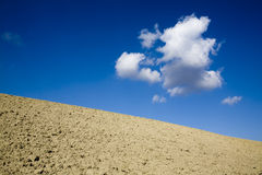 Skyscape with ground Stock Photography