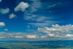 Skyscape Over Beautiful Bitterroot Valley Royalty Free Stock Photo