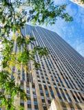 Skyscaper élevé à Manhattan, New York City Photo stock