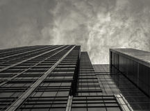 Skyscaper abstrait de construction images stock