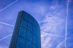 Skyscaper i rotterdam Royaltyfri Foto