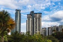 Skyscaper och moderna kontorsbyggnader Royaltyfri Foto