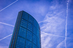 Skyscaper in rotterdam Royalty Free Stock Photo