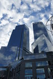 Skyscapers в Нью-Йорке Стоковое Изображение RF