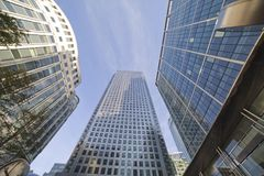 Skyscapers. Royalty Free Stock Image