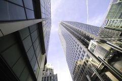 Skyscapers. Royalty Free Stock Photography