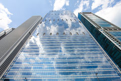 Skyscapers buildings stock photo