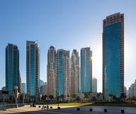 Skyscapers dubai Stock Photography