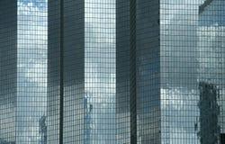 Skyscapers modernos en París Imagenes de archivo