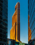 Skyscapers in Moscow Stock Photography