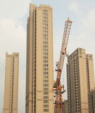 skyscrap shanghai конструкции Стоковые Изображения