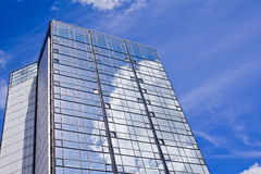 Skyscraper. Photograph of a modern skyscraper Royalty Free Stock Photography