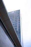 Skyscraper. Modern buildings district in vilnius Royalty Free Stock Image
