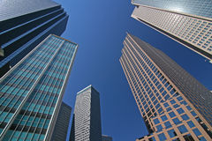 Skyscraper in Downtown Dallas Stock Photos