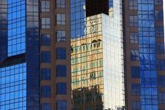 Skyscraper. Mirrored windows of a skyscraper in Sacramento Royalty Free Stock Images