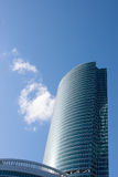 Skyscraper. Modern glass architecture and sky Stock Photography