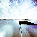 Skyscraper abstract concept Royalty Free Stock Photos