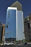 Skyscraper in Abu Dhabi, UAE Royalty Free Stock Photos