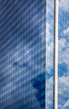 Skyscraper against blue sky Royalty Free Stock Photo