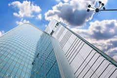 Skyscraper aginst sky. Stock Images