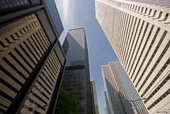 Free Skyscraper Alley Stock Image - 2738851