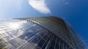 Skyscraper architecture stock footage