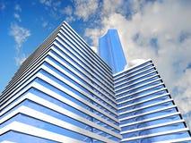 Skyscraper background Stock Photo