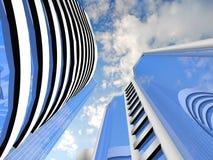 Skyscraper background Stock Image