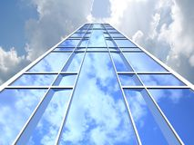 Skyscraper background Royalty Free Stock Photo