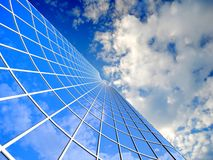 Skyscraper background Royalty Free Stock Photos