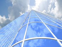 Skyscraper background Stock Photography