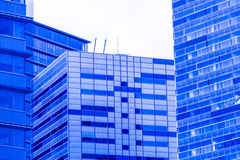 Skyscraper, Barcelona Stock Images