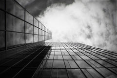 Skyscraper in black and white Stock Photos