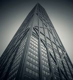 Skyscraper Black and White Photo Royalty Free Stock Image