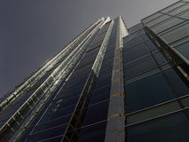 Skyscraper from bottom Royalty Free Stock Photography