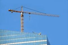Skyscraper building activity Royalty Free Stock Photography