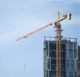 Skyscraper building activity Stock Photos