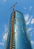 Skyscraper building construction Stock Images