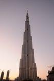 Skyscraper Burj Dubai Royalty Free Stock Photo