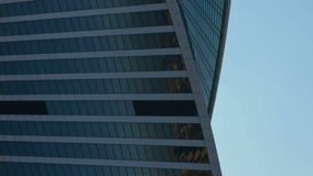 Skyscraper business center stock footage