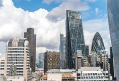 Skyscraper Business Office, Corporate building in London City, E. Skyscraper  Office, Corporate building in London City, England, UK Stock Photo