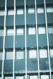 Skyscraper business office tower block windows Royalty Free Stock Images