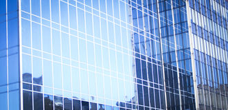 Skyscraper business office tower block windows Royalty Free Stock Image