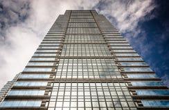 Skyscraper in Center City, Philadelphia, Pennsylvania. Royalty Free Stock Photos