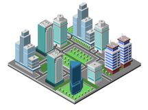 Skyscraper City Concept Royalty Free Stock Image