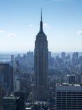 Skyscraper in a city, Empire State Building, Lower Manhattan, Ne Royalty Free Stock Photo
