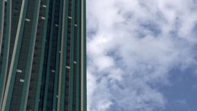 Skyscraper and Clouds stock video