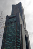 The 85 skyscraper at cloudy day Stock Photos