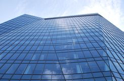 Skyscraper. Clusters of s, downtown, glass facades, tall buildings, office buildings, apartment,warsaw stock photography
