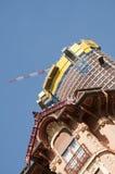 Skyscraper and Constraction crane view in Monaco , Monte Carlo Royalty Free Stock Photos